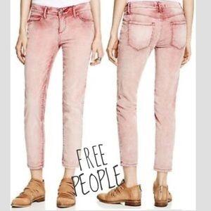 FREE PEOPLE • Roller Crop Ankle Corduroy Pants 28